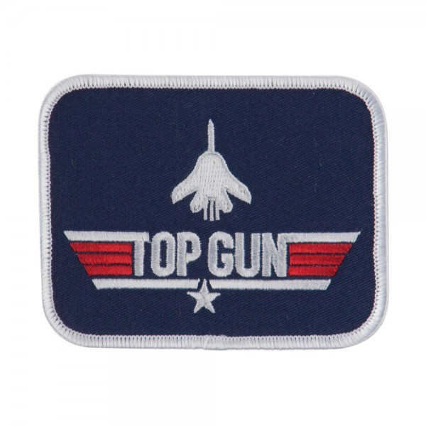 Navy Top Gun Embroidered Military Patch - Top Gun