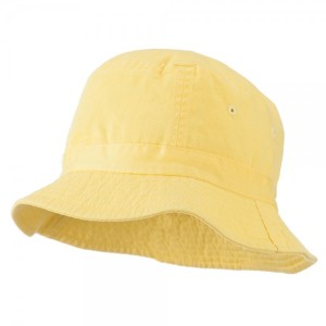 Youth Pigment Dyed Bucket Hat-Yellow