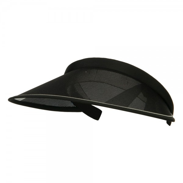 clip on visor hats