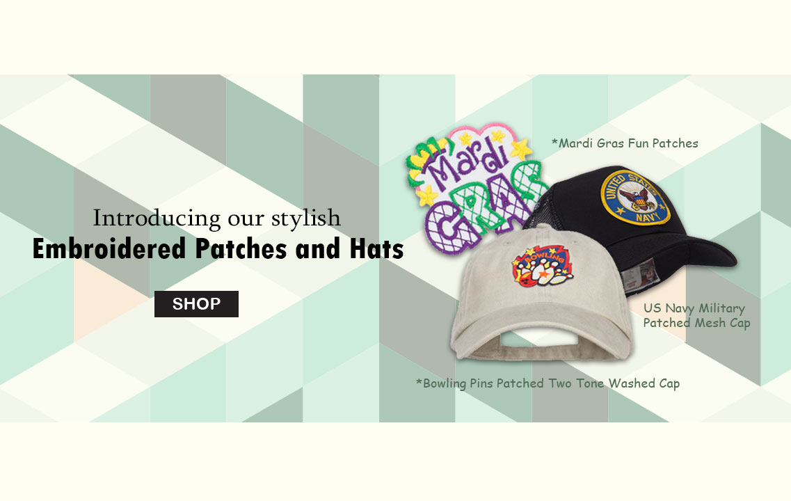 New styles of Embroidered Patch Hats - e4Hats.com Blog 093bfa4ae80