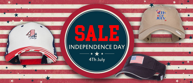 Fourth of July Hat Sale